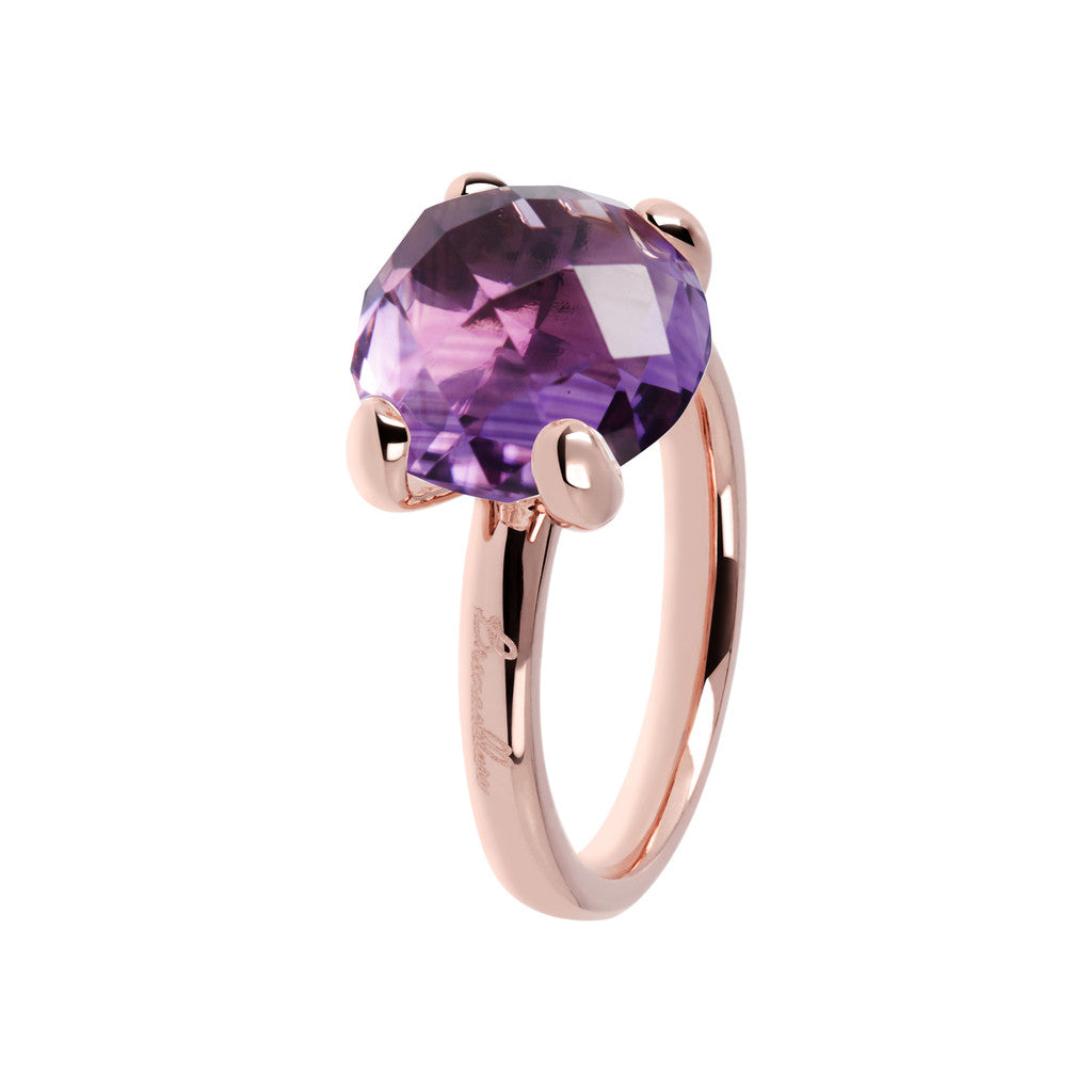 Amethyst stone Cocktail Ring