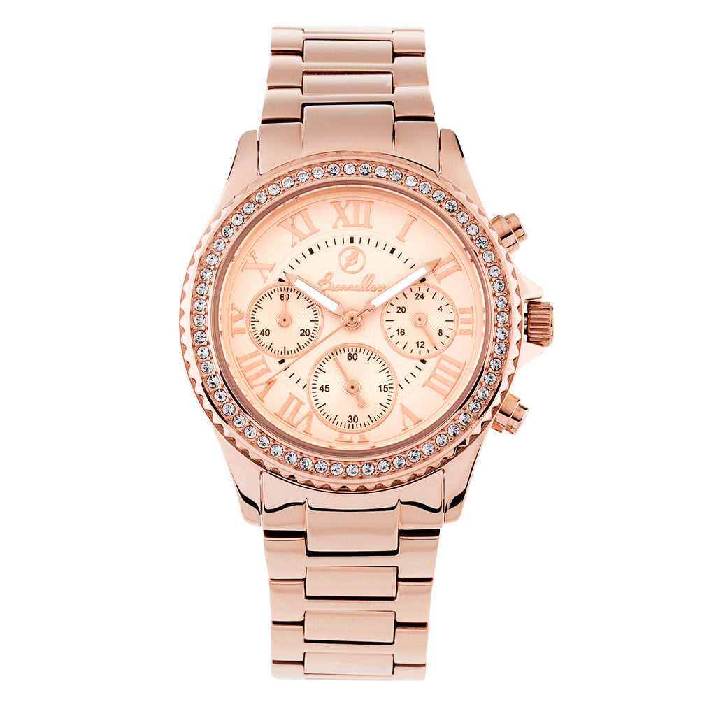 Indici Supreme Watch CUBIC ZIRCONIA-ROSE DIAL