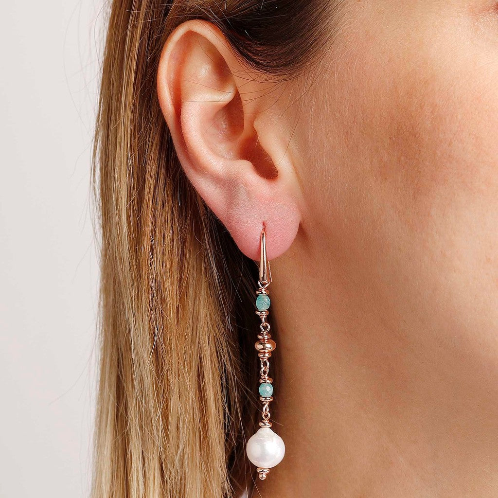 worn Pearls Earrings