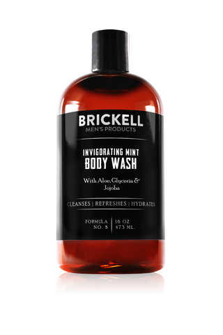 Invigorating Mint Body Wash for Men