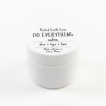do everything salve handmade in maine - rooted earth apothecary
