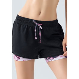 Yoga 2 in 1 Quick Dry Shorts - Fits4Yoga