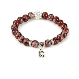 Love Bead Yoga Bracelet - Fits4Yoga