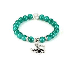 I Love Yoga Bracelet - Fits4Yoga