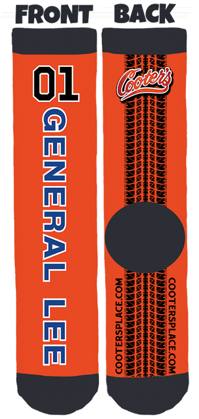 General Lee 01 Bamboo Socks