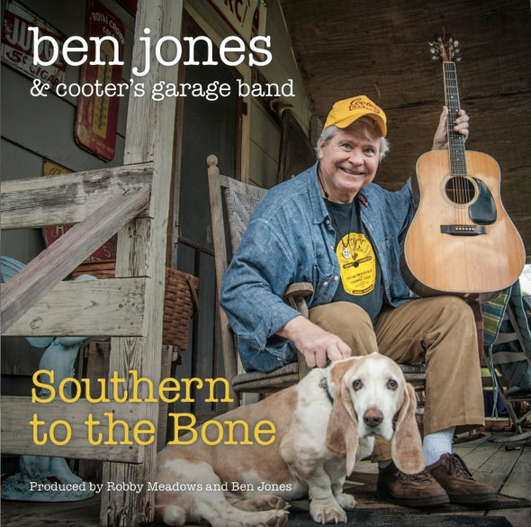 "Autographed Ben Jone CD ""SOUTHERN TO THE BONE"""