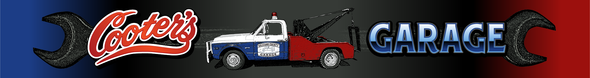 Cooter's Tow Truck Pencil