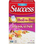 Success Boil-In-Bag Jasmine Rice, 14-Ounce Box