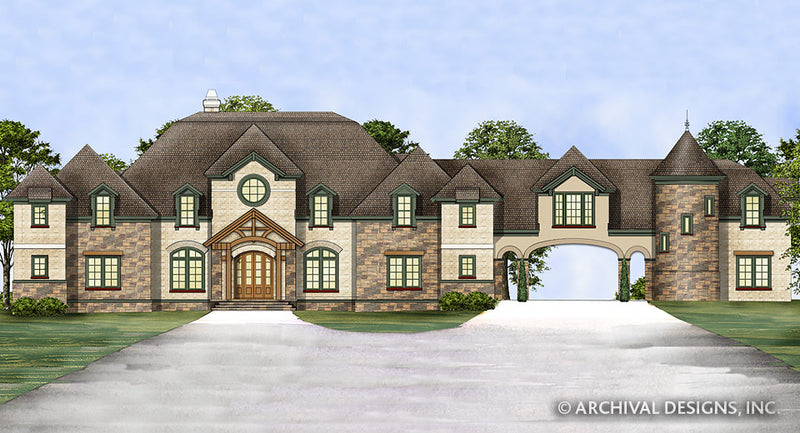 Chastain House Plan