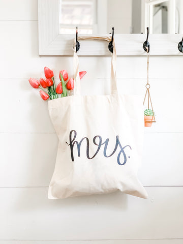 Mrs. Market Tote Bag
