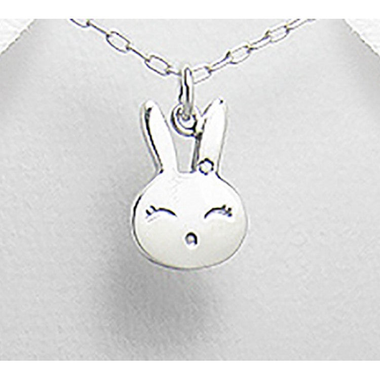 Lily and Momo - Pendant - Baby Bunny Sterling Silver