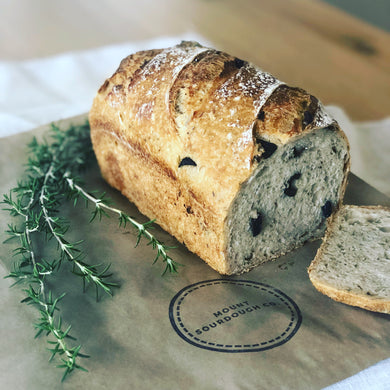 The Olive & Rosemary Sourdough Loaf