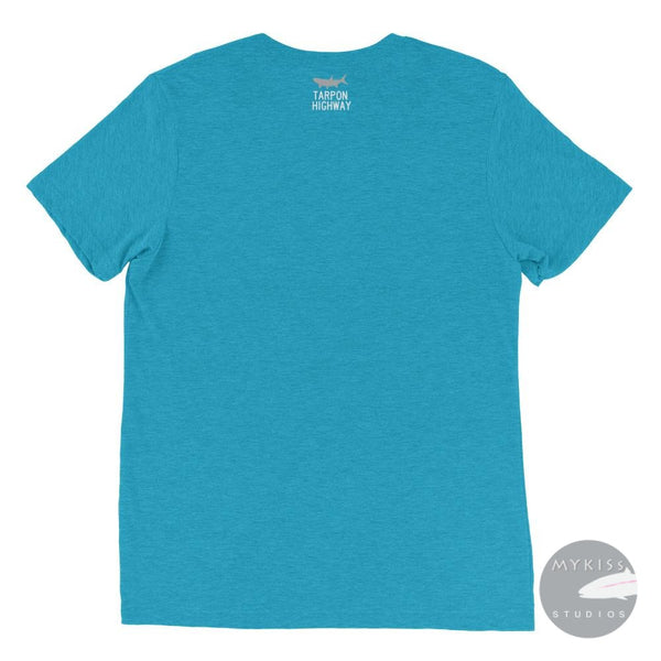 Slim Fit Limited Tarpon Highway T-Shirt Aqua Triblend / Xs