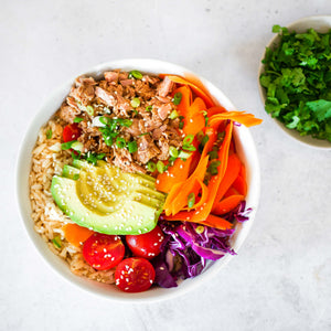 Triple Chilli Tuna Poke Bowl