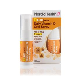 NordicHelath D3 Vitamin Spray Børn 10 mcg 15 ml