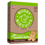 Buddy Biscuits Original Oven Baked Crunchy Treats Roasted Chicken 16 ounces-Dog-Buddy Biscuits-PetPhenom