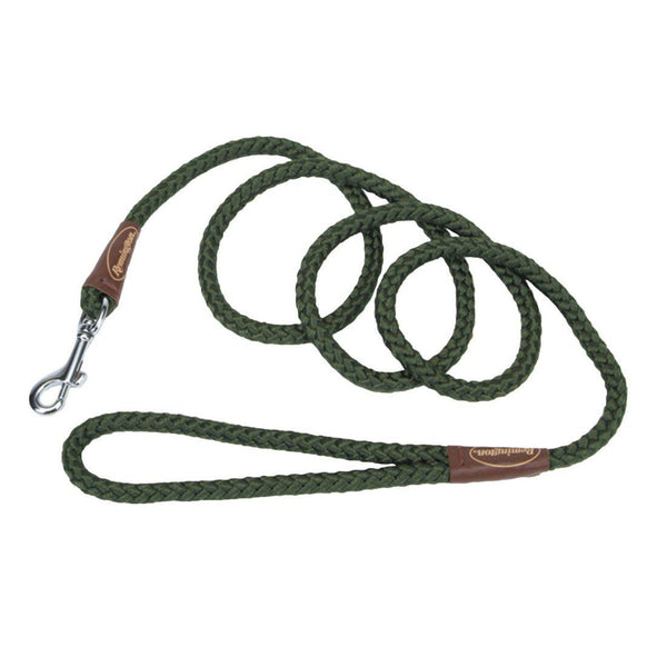 "Remington Braided Rope Dog Snap Leash 6 Feet Green 72"" x 1"" x 1""-Dog-Remington-PetPhenom"