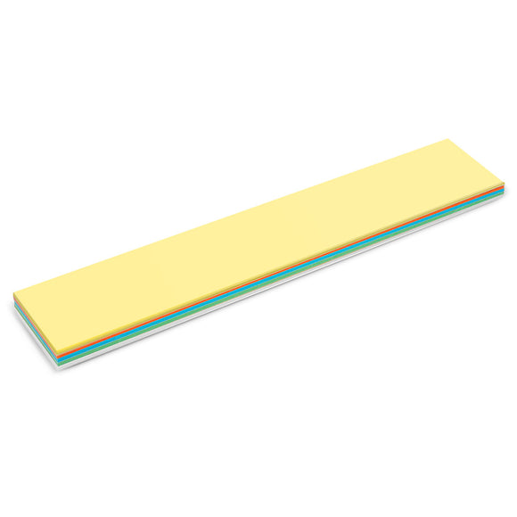 150 Title Stick-It Cards, assorted colours