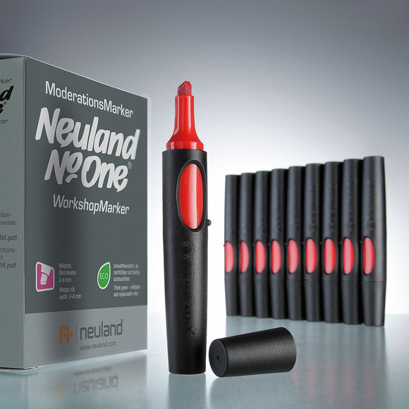 Neuland No.One®, wedge nib, 10-Set