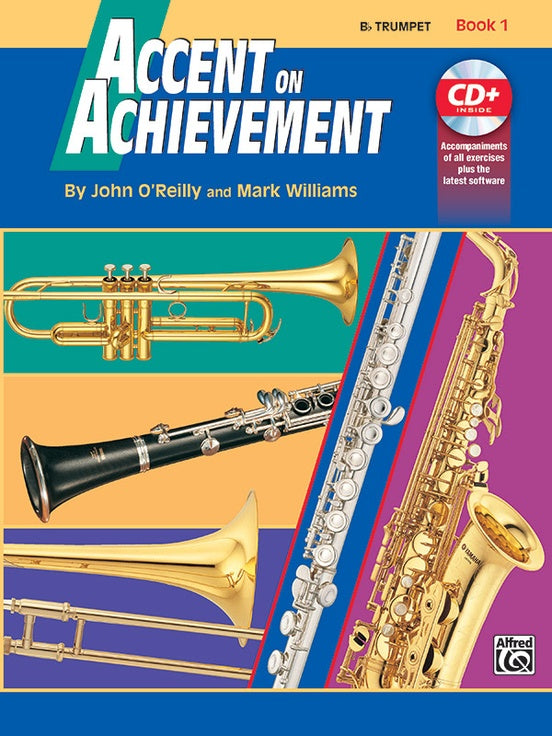 ALF17090 - Accent on Achievement. Trumpet Book 1 Default title