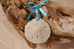 SAND DOLLAR ORNAMENT, SAND ORNAMENT, TROPICAL SEASIDE ORNAMENT, COASTAL BEACH GIFT, MADE IN FLORIDA, BEACH LOVER GIFTS, BEACH SAND KEEPSAKES, VACATION SOUVENIR, GIFT SHOP OWNERS, PROMOTIONAL ITEMS, PARTY FAVOR, SPECIAL EVENT, COLLECTIBLES, HAND-CRAFTED, FUNDRAISER, BRIDAL SHOWER FAVORS, DESTINATION WEDDING, BEACH WEDDING FAVORS