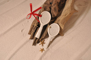 TENNIS RACKET ORNAMENT, TENNIS RACKET SAND ORNAMENT, TENNIS LOVERS, TROPICAL SEASIDE ORNAMENT, COASTAL BEACH GIFT, MADE IN FLORIDA, BEACH LOVER GIFTS, BEACH SAND KEEPSAKES, VACATION SOUVENIR, GIFT SHOP OWNERS, PROMOTIONAL ITEMS, PARTY FAVOR, SPECIAL EVENT, COLLECTIBLES, HAND-CRAFTED, FUNDRAISER, BRIDAL SHOWER FAVORS, DESTINATION WEDDING, BEACH WEDDING FAVORS