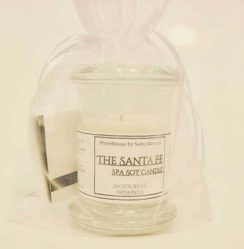 C - Soy Candle Spa Collection- The Santa Fe