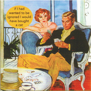 "Anne Taintor napkins ""ignored"""