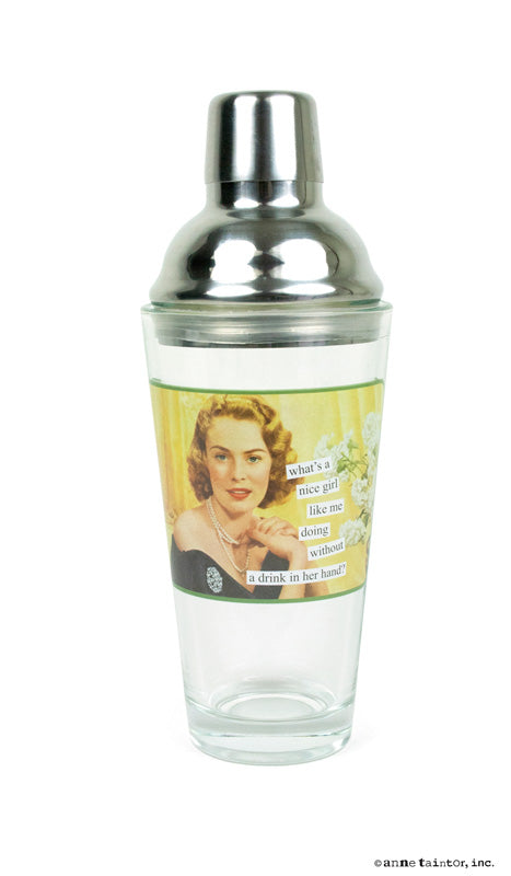 Anne Taintor Cocktail Shaker ~