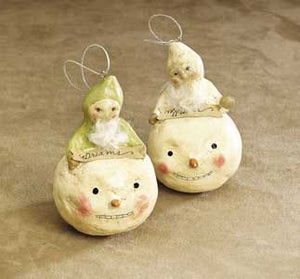 Wishes and Dreams Ornaments by Nicol Sayre