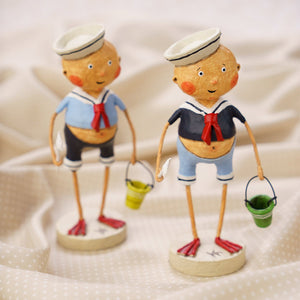 """Sailor Boys"" by Lori Mitchell ~ sold individually"