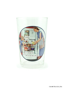 "Anne Taintor ""Juice"" Glasses ~ Jeepers"