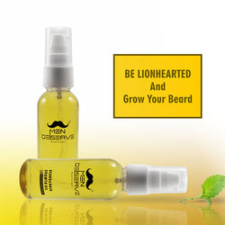 Men Deserve Beard & Hair Growth Oil (Basil Hairy Root Extract) – 50 Ml
