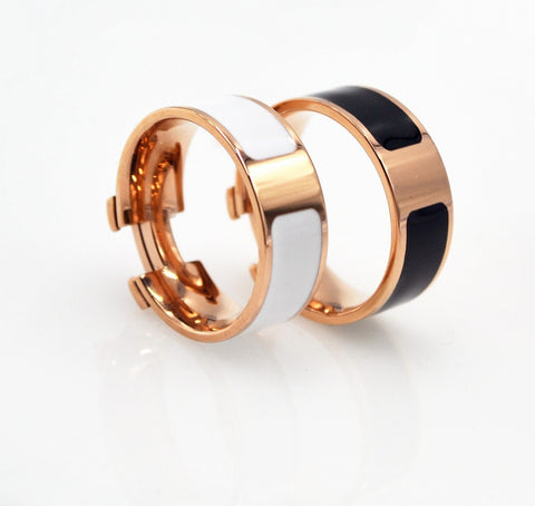 Love Ring- titanium - RishWish