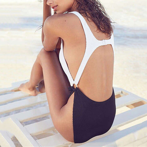 Urban Outfitters - Out From Under Peek-A-Boo Ring One-Piece Swimsuit - RishWish