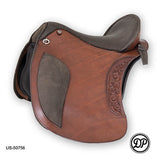 DP Saddlery El Campo Decor ShortyBaroque Saddle