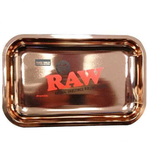 RAW Rolling Tray Limited Rose Gold