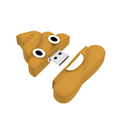 Poo USB flash drive