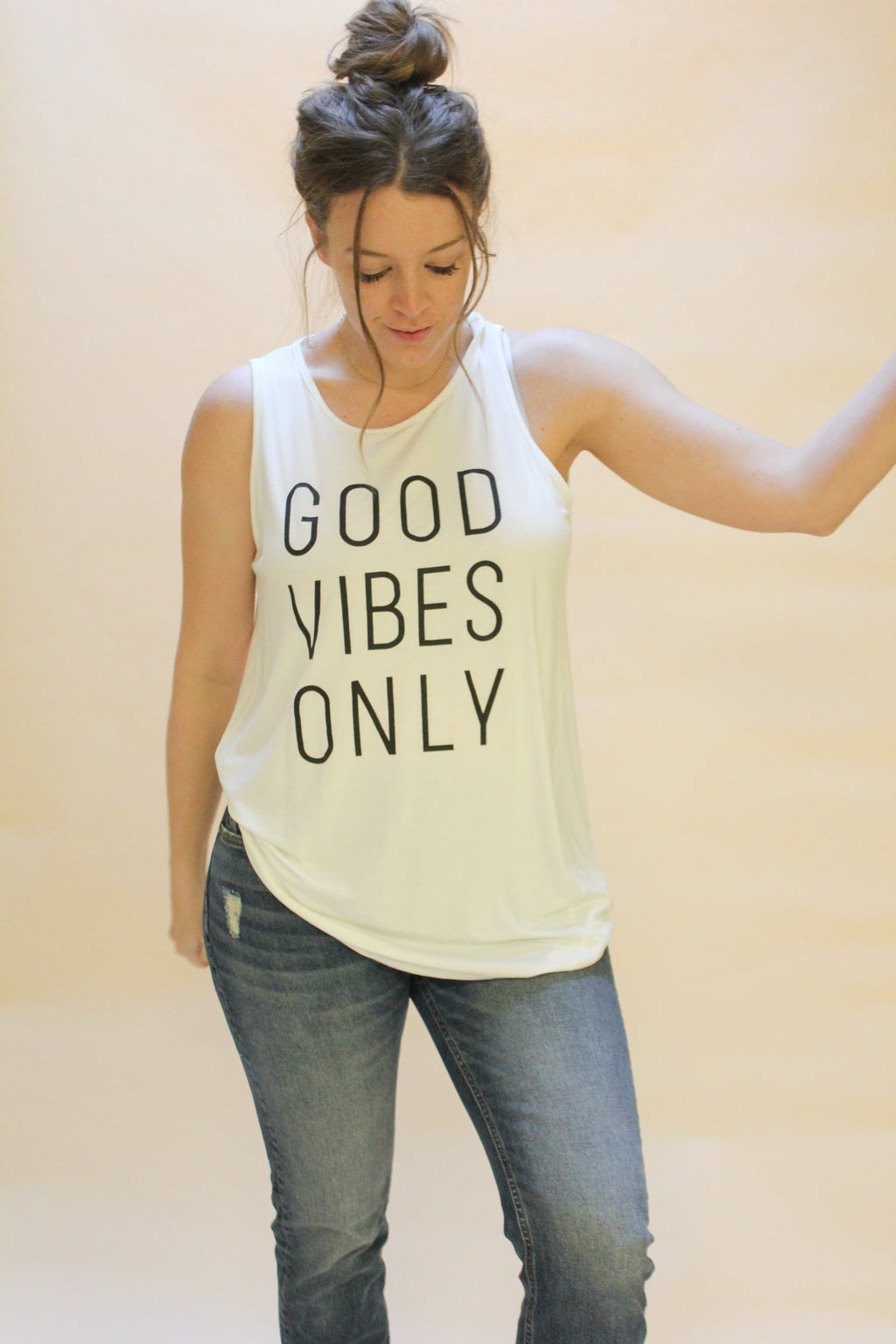Good Vibes Only- Tank Top - Emma and Evey