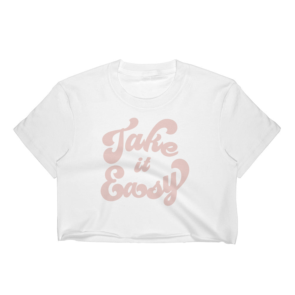 Take it Easy Crop Top! - Emma and Evey
