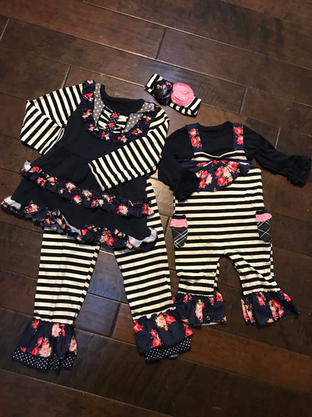 Girls Midnight Blossom sets