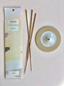 Ceramic Incense Set