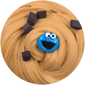 Cookie Monster Butter Slime Scented w/ Charm