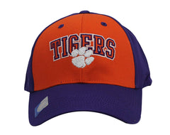 Champ Arch Clemson Tigers Hat Embroidered Adjustable Velcro Closure Cap