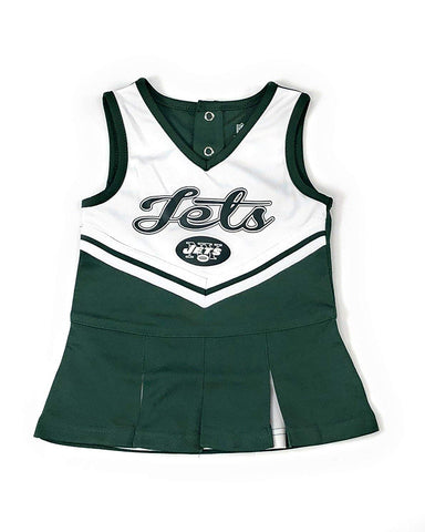 Outerstuff New York Jets Football Girls Cheerleader Dress Clothing Apparel