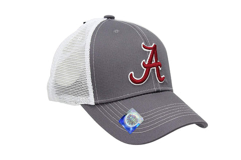 Alabama Crimson Tide Football Hat, Embroidered Mesh Back Cap
