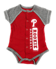 Outerstuff Philadelphia Phillies Baby Clothing, University Creeper Apparel