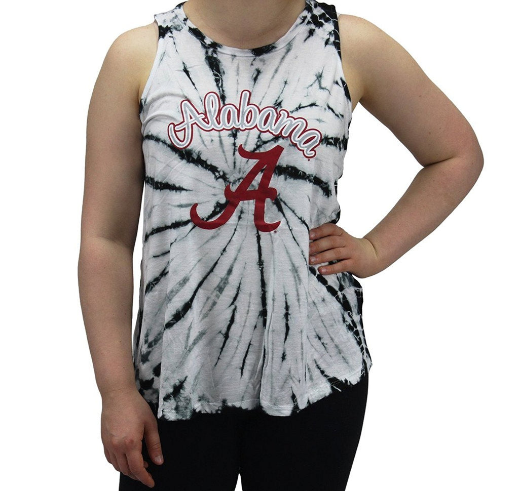 Pressbox Women' s Alabama Crimson Tide Tank Top Tye Di T-Shirt