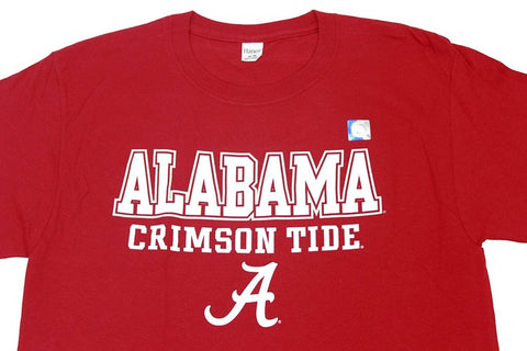 Knights Apparel Men's Alabama Crimson Tide T-Shirt Hanes