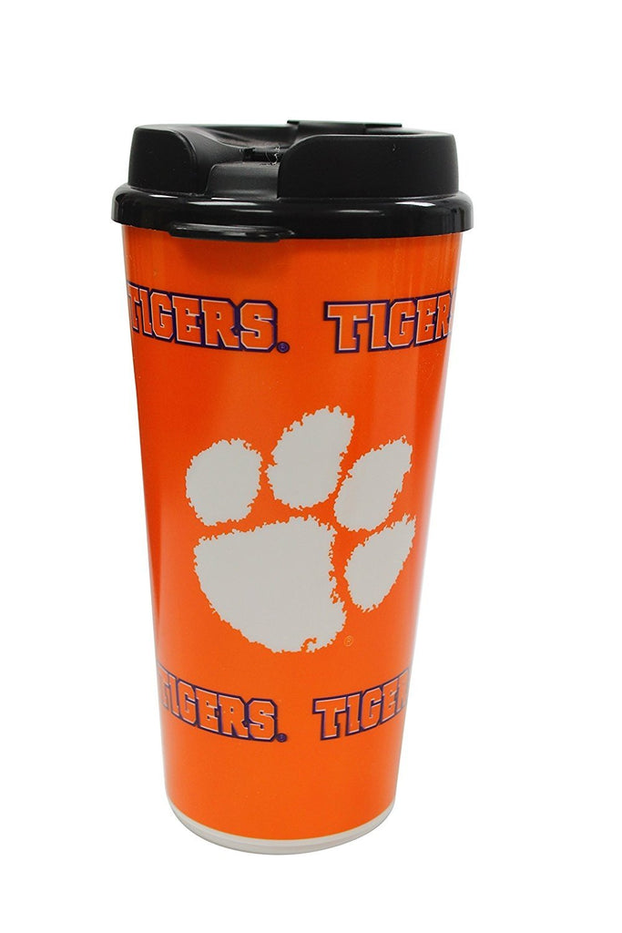 Clemson Tigers Holiday Gift Bundle Mug Cap Tumbler Hot Chocolate Lanyard in a Gift Box